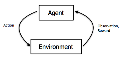 Reinforcement Learning Interaction Loop